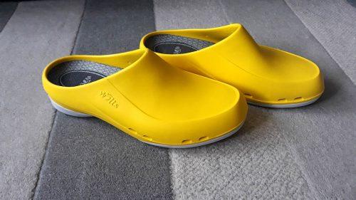 Obuwie medyczne damskie (wsuwane, kolor: yellow) photo review