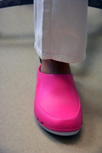 Obuwie medyczne damskie (wsuwane, kolor: pink) photo review