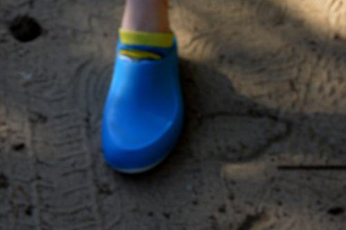 Obuwie medyczne damskie (wsuwane, kolor: azure) photo review
